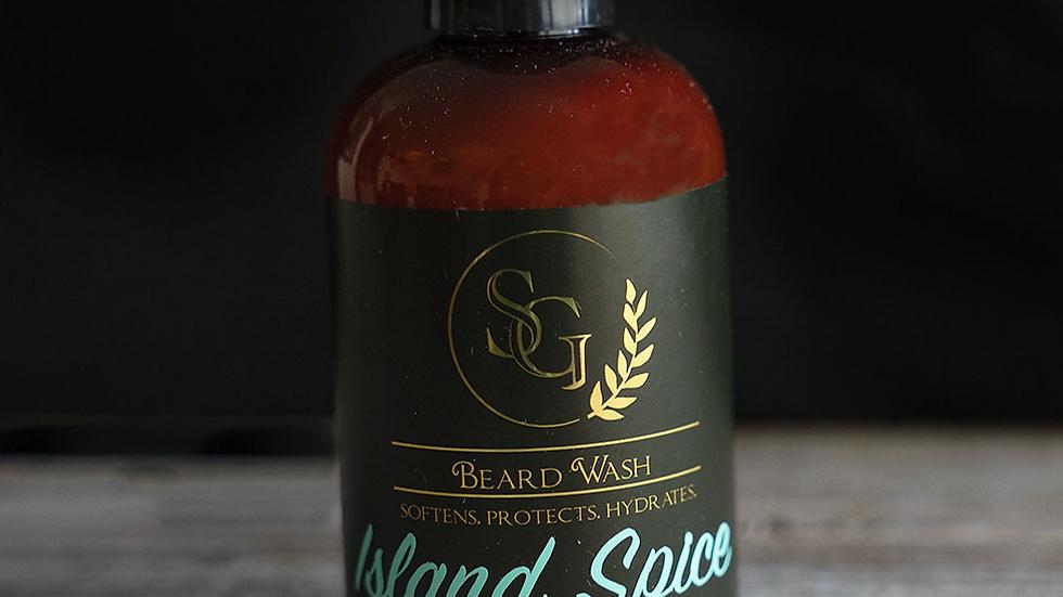 Island Spice Beard Wash