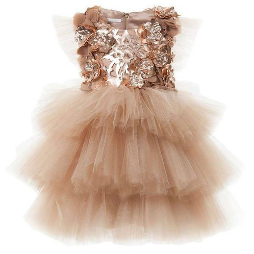 Toddler Golden Miscka Dress