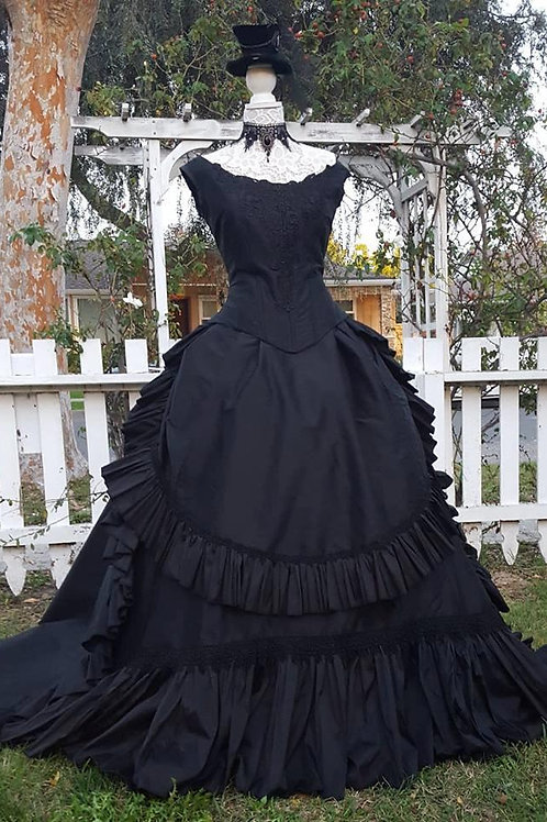 Black Victorian Fantasy Session - Medium (some small Larges)