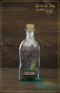Art of the Day Spring Seasons in a Jar P