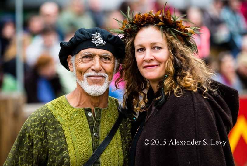 Ray and Sharron 2015 Maryland Renaissance Festival