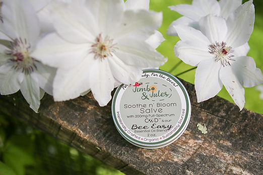 Full-spectrum CBD salve handmawith all-natural body care ingredients