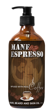 Mane Espresso Hair, Beard and Skin Oil