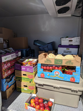 Fresh produce on the LFC truck