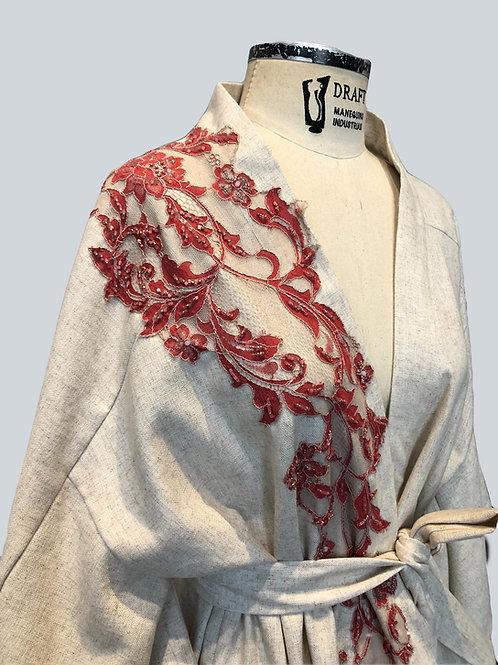 Kimono Kioto de Linho