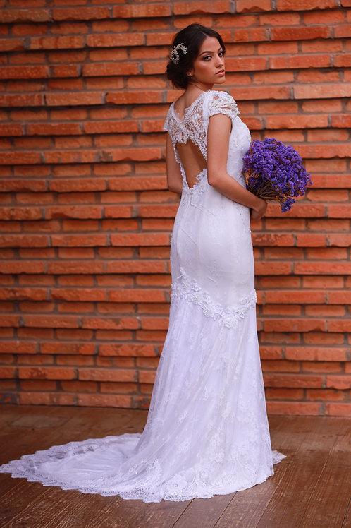 Vestido Fernanda White