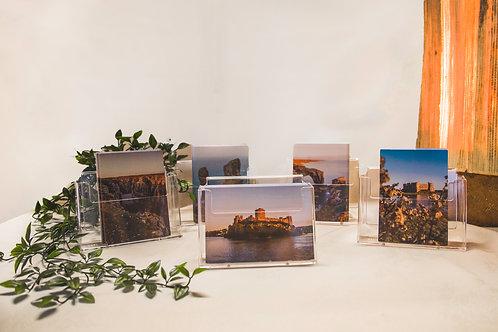 5 Postcards Set