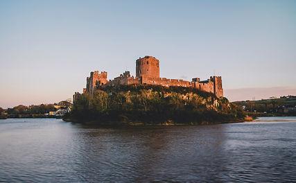 Pembroke Castle in Pembrokeshire