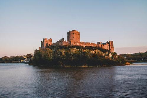 Pembroke Castle Print