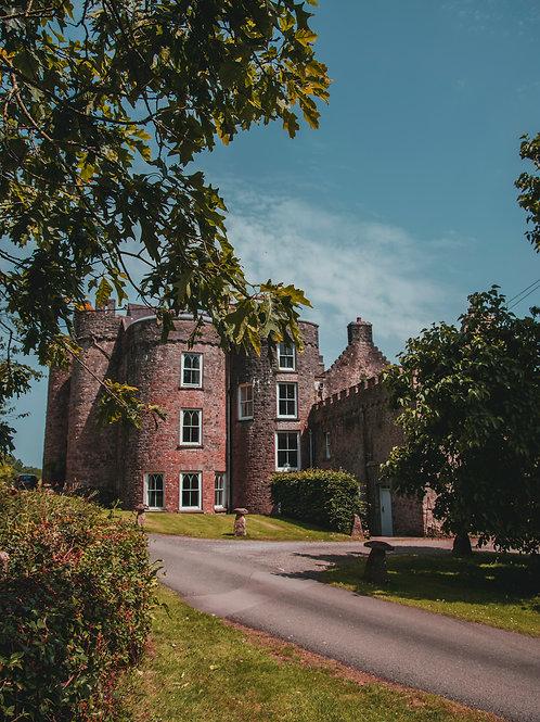 Upton Castle Print