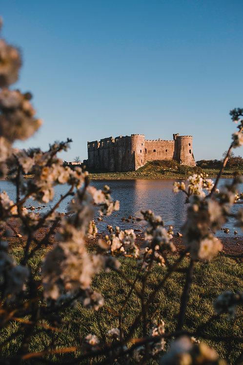 Carew Castle Print