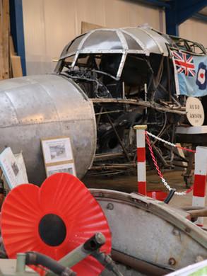 avro anson aircraft being restored.JPG