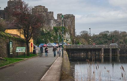 Pembroke Town Walls in Pembrokeshire