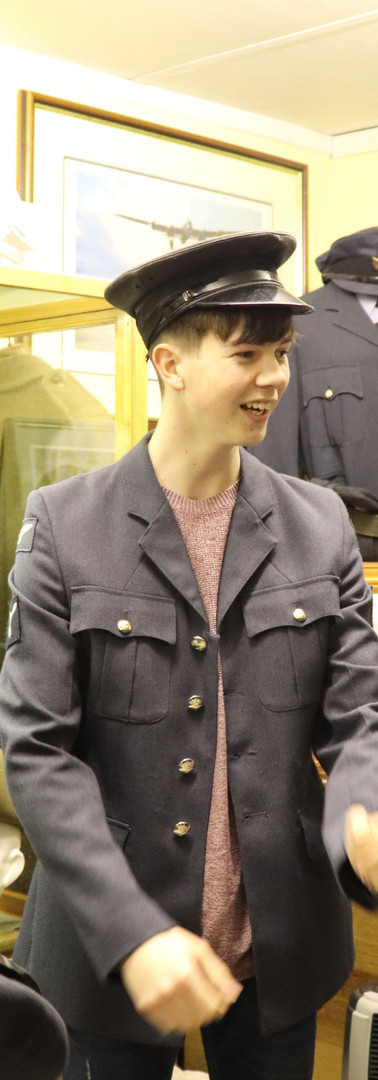 Elise Dylan Wayne in uniform.JPG