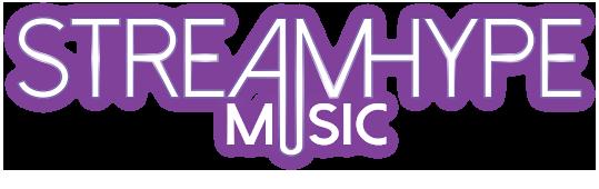 StreamHype Music Logo - Royalty Free Streaming Music