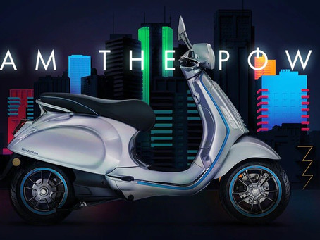 THIS IS VESPA ELETTRICA
