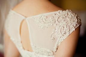 詳細・オブ・美しい結婚式ドレス