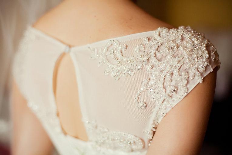 details-of-beautiful-wedding-dress