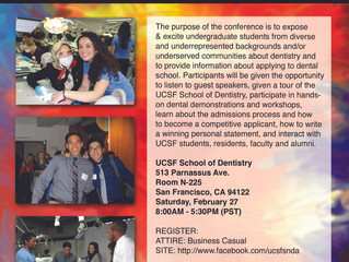 UCSF School of Dentistry Pre-Dental Undergraduate Conference