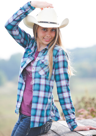 Perfect for Country Girls Senior Photography