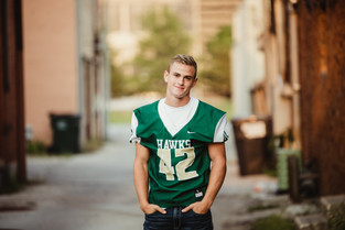 Senior Football Photographer