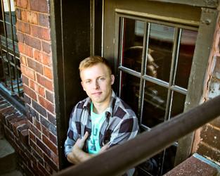 Ames High School Senior Portrait Photographer