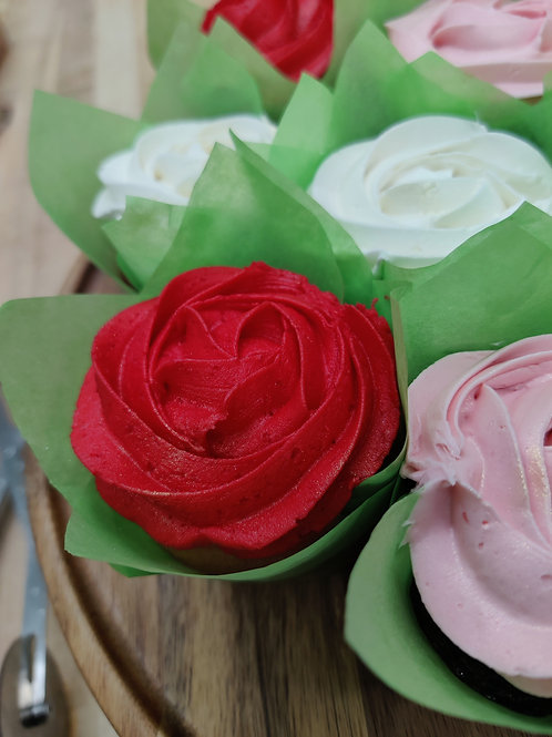 copy of Rose Cupcakes (12 per box)