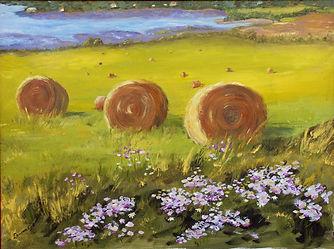Painting - Hay Bales - Lauren Gill.jpg