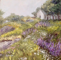 Painting - Misty Morning, Monhegan.jpg