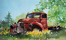 Paintings - Out to Pasture.JPG