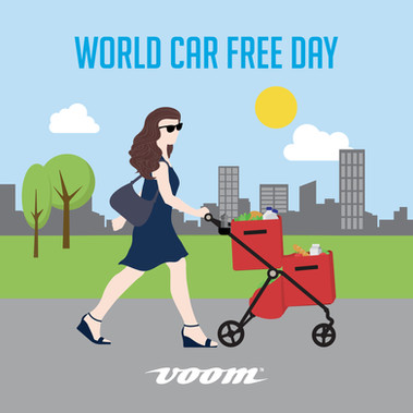 celebrate world car free  day with us