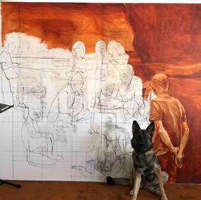 Underpainting stage