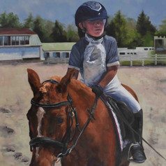 Private Commission - Olivia & Huckleberry