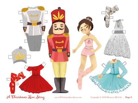 """Set a """"Paper Doll Play Date"""" with your daughter or granddaughter!"""