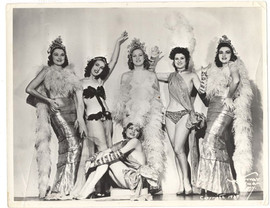 Folies Bergere 1939 N.Y. Mayfair Theater and Worlds Fair Murray Korman Photo