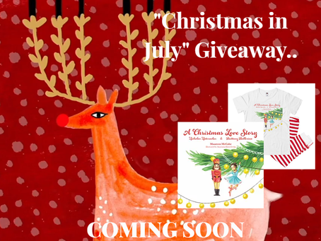"""""""Christmas in July"""" Book Giveaway"""