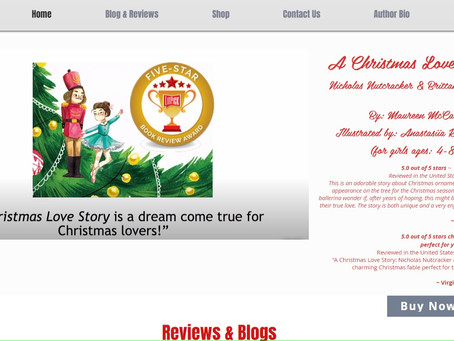 Reimaging our Christmas book and website