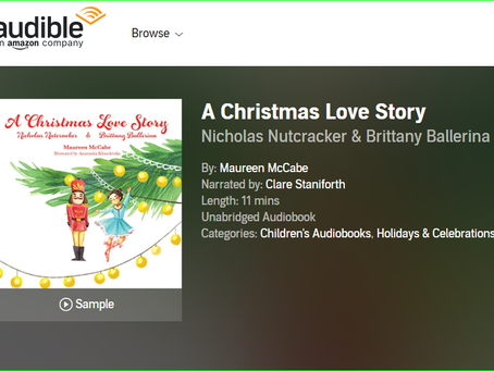 Great Xmas Bedtime Story now available on Audible