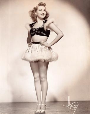 Betty Grable: circa 1941