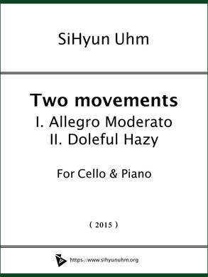 Two Movements for Cello & Piano Cover.jp