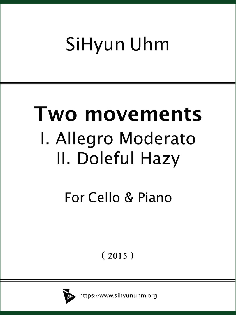 Two Movements for Cello & Piano Cover.jp