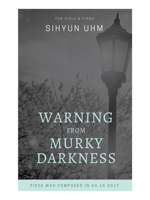 Warning from Murky Darkness for Viola an
