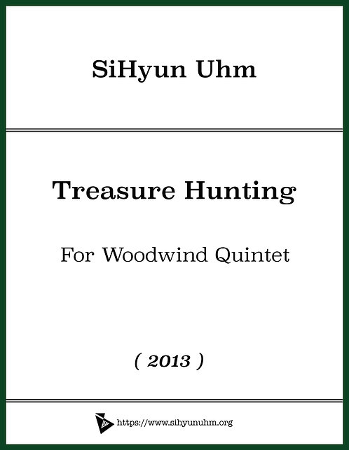 Treasure Hunting for Woodwind Quintet