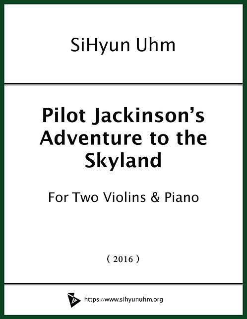 Pilot Jackinson's Adventure to the Skyland