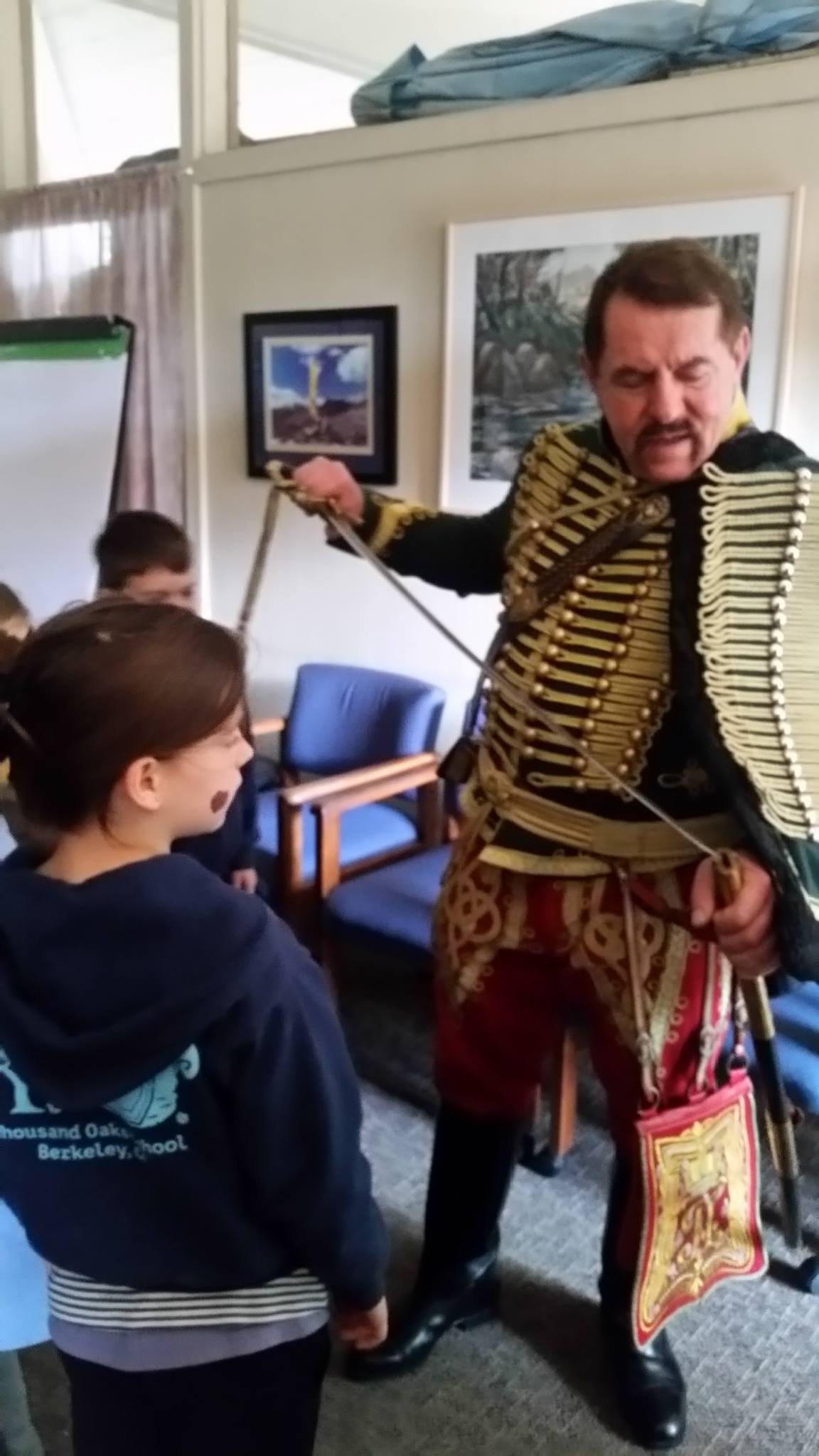 Lecture from the Hungarian Hussars