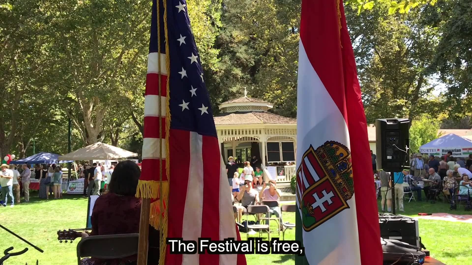 Second Hungarian Festival in Downtown Walnut Creek, CA