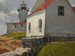 Eastern Pt. Lighthouse and Shed