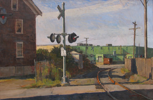 By The Tracks,  Willow St.