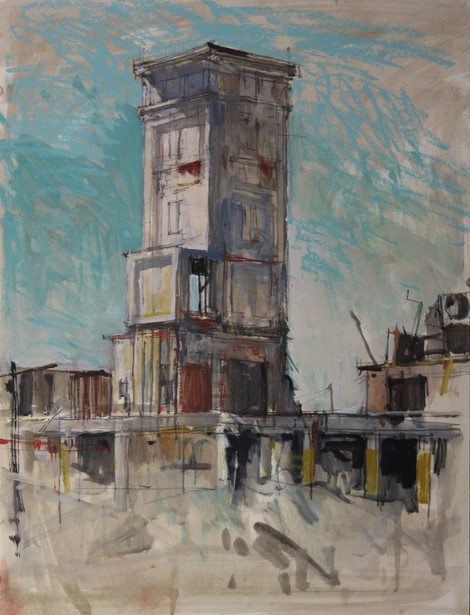 Birdseye Tower Demolition No. 1
