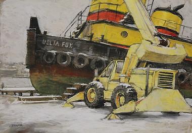 Tugboat Delta Fox